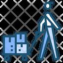 Cargo Transport Shipping Icon