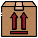 Side Up Box Icon