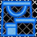 Bag Packaging Box Icon