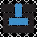 Parcel Box Courier Icon