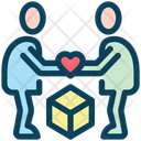 Parcel Love Gift Icon