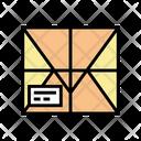 Parcel Box Carton Icon