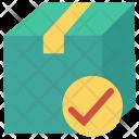 Parcel Check Tick Icon