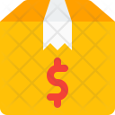 Delivery Box Dollar Icon