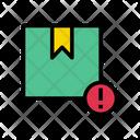Parcel Box Warning Icon