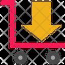 Parcel Arrow Icon