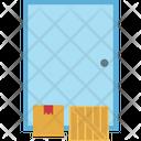 Parcel At Door Step Icon