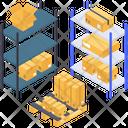 Parcel Cabinet Parcel Rack Parcel Shelf Icon
