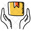 Parcel Care Parcel Protection Parcel Security Icon