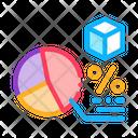 Parcel Percentage Chart Icon