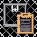 Parcel Clipboard Icon