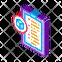 Parcel Declaration Product Icon