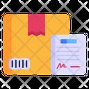 Parcel Declaration Icon