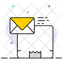 Parcel Delivery Message Delivery Message Notification Icon