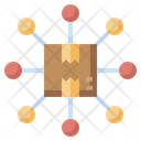 Parcel Distribution Icon
