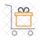 Gift Trolley Dolly Icon