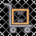 Dolly Parcel Box Icon