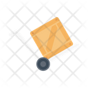 Dolly Parcel Delivery Icon