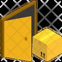 Parcel Door Icon