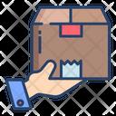 Kartboard Currier Box Icon