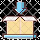 Parcel In Parcel Inside Box Inside Icon
