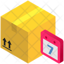 Parcel In Date Icon