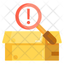 Parcel Inspection Box Inspection Courier Inspection Icon