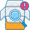 Parcel Inspection Icon
