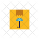 Parcel Insurance Protected Parcel Deliery Security Icon