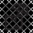 Delivery Protection Umbrella Icon