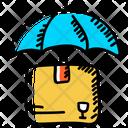 Parcel Insurance Parcel Protection Parcel Security Icon