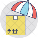 Parcel Insurance Safety Icon