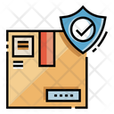 Parcel Insurance Package Insurance Box Security Icon