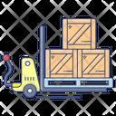 Parcel Jack Parcel Lifting Parcel Racks Icon