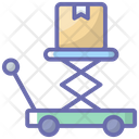 Parcel Lifting Icon