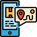Location Tracking Gps Icon