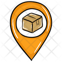 Parcel Location Shipping Location Consignment Location Icon