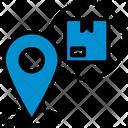 Location Logistic Pin Icon