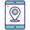 Parcel Location Package Location Delivery Icon