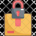 Parcel Lock Icon