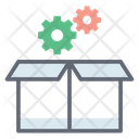 Package Settings Package Maintenance Box Maintenance Icon