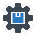 Parcel Setting Delivery Icon