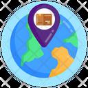 Delivery Location Parcel Navigation Delivery Navigation Icon