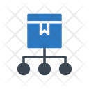 Parcel Network Icon