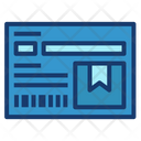 Parcel note Icon