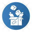 Parcel Package Order Icon