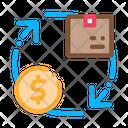 Parcel Payment Postal Icon