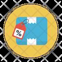 Parcel Carton Box Icon