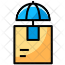 Parcel Protection Insurance Box Icon
