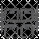 Parcel Racks Icon